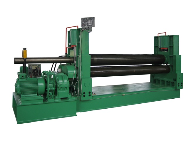 W11S BIG TYPE UPPER ROLLER UNIVERSAL PLATE ROLLING MACHINE