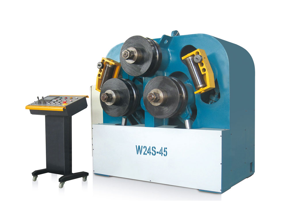 W24S FULL HYDRAULICS PROFILE BENDING MACHINE