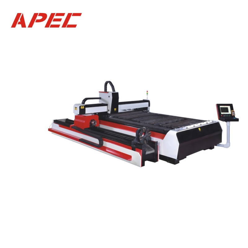 Flat And Tube Fiber Laser Cutting Machine